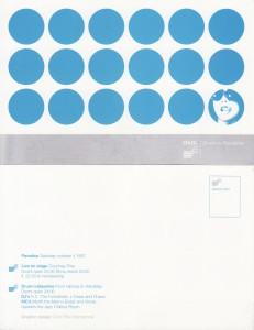 1 drum&bassline okt.1997 (design - Experimental Jetset)
