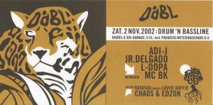 21 drum&bassline nov.2002