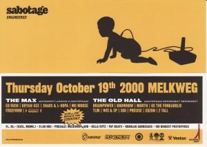 24 Sabotage okt.2000  (design-Hotel)