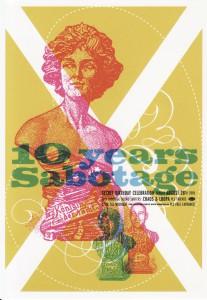 26 Sabotage aug.2005 (design-Shamrock)