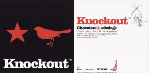 3 Knockout mrt.2001 (design Parra)