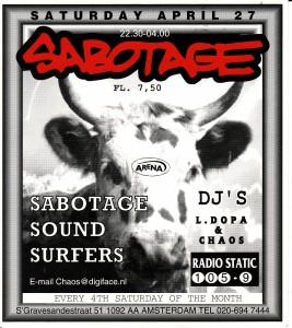 3 Sabotage apr.1996